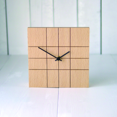 LINED CLOCK-1